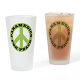 Paramedics For Peace Pint Glass