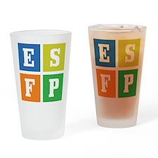 Myers-Briggs ESFP Pint Glass
