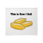 How I Roll (Italian Rolls) Throw Blanket