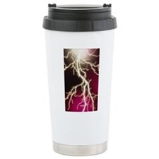 Lightning Ceramic Travel Mug