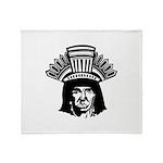 American Indian Throw Blanket