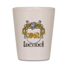 Devine Coat of Arms Shot Glass
