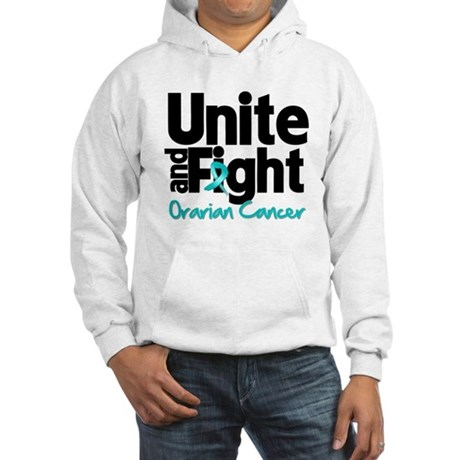 Unite Fight Ovarian Cancer Hooded Sweatshirt