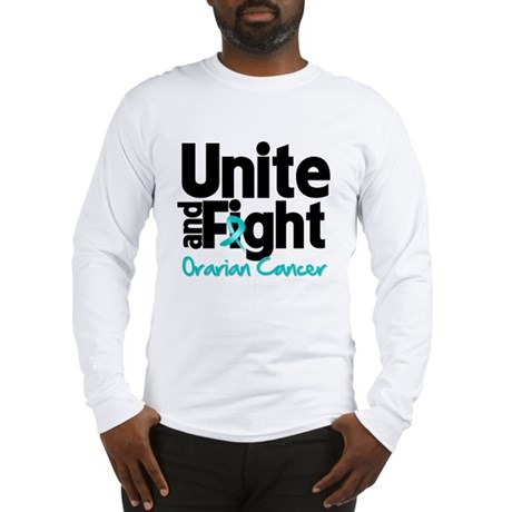 Unite Fight Ovarian Cancer Long Sleeve T-Shirt