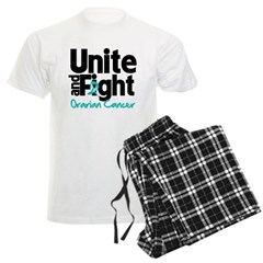 Unite Fight Ovarian Cancer Men's Light Pajamas