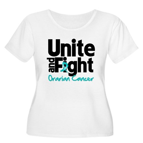 Unite Fight Ovarian Cancer Women's Plus Size Scoop