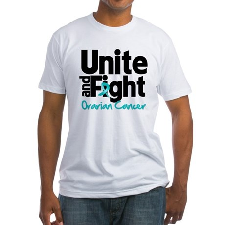 Unite Fight Ovarian Cancer Fitted T-Shirt