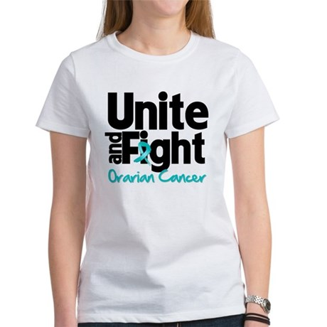 Unite Fight Ovarian Cancer Women's T-Shirt
