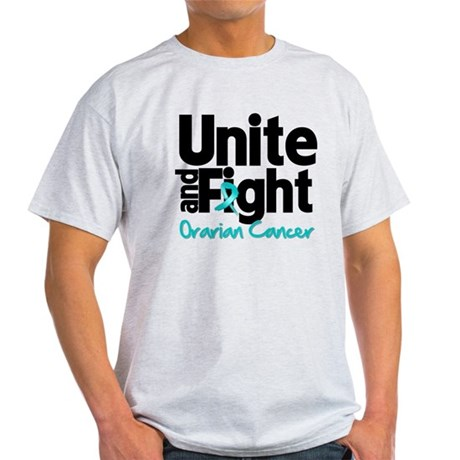 Unite Fight Ovarian Cancer Light T-Shirt