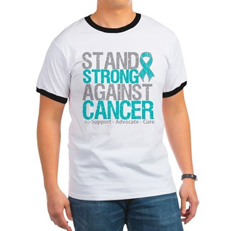 Stand Strong Ovarian Cancer Ringer T