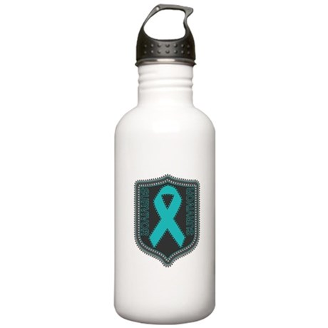 Ovarian Cancer Survivor Stainless Water Bottle 1.0