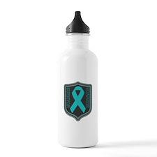 Ovarian Cancer Survivor Sports Water Bottle