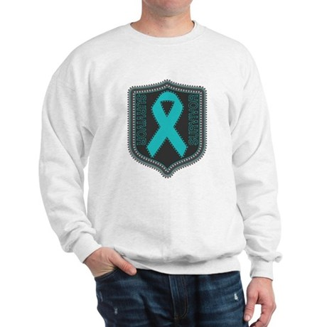 Ovarian Cancer Survivor Sweatshirt