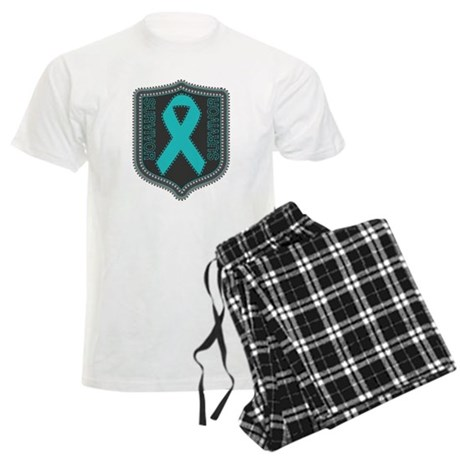 Ovarian Cancer Survivor Men's Light Pajamas