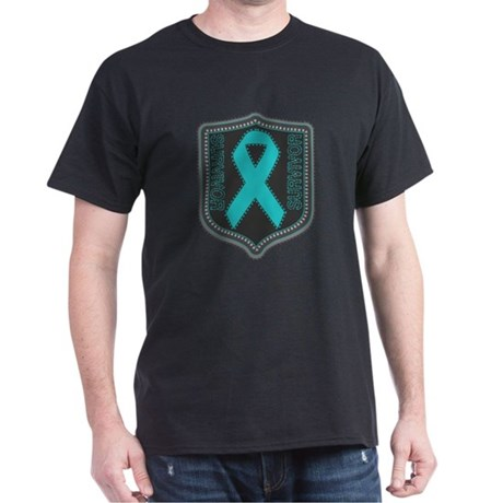 Ovarian Cancer Survivor Dark T-Shirt