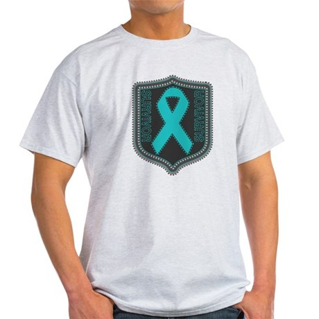 Ovarian Cancer Survivor Light T-Shirt