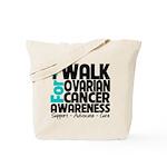 Walk Ovarian Cancer Tote Bag