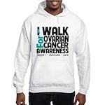 Walk Ovarian Cancer Hooded Sweatshirt