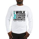 Walk Ovarian Cancer Long Sleeve T-Shirt