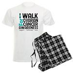 Walk Ovarian Cancer Men's Light Pajamas