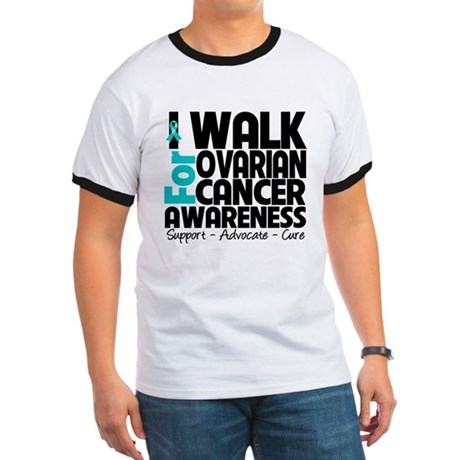 Walk Ovarian Cancer Ringer T