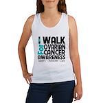 Walk Ovarian Cancer Women's Tank Top