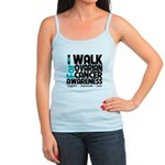 Walk Ovarian Cancer Jr. Spaghetti Tank