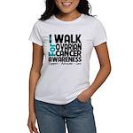 Walk Ovarian Cancer Women's T-Shirt