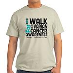 Walk Ovarian Cancer Light T-Shirt