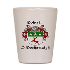 Doherty Irish/English Shot Glass