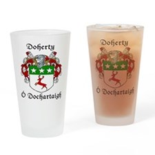Doherty Irish/English Drinking Glass