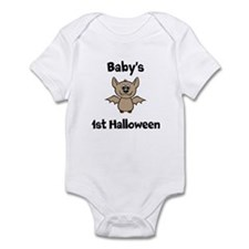 [NAME]'s 1st Halloween Bat Infant Bodysuit