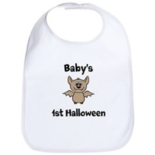 [NAME]'s 1st Halloween Bat Bib