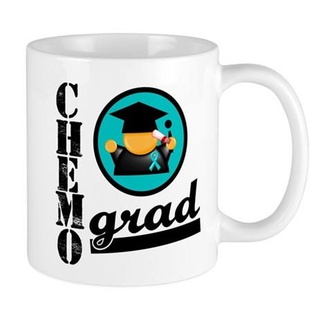 Chemo Grad Ovarian Cancer Mug