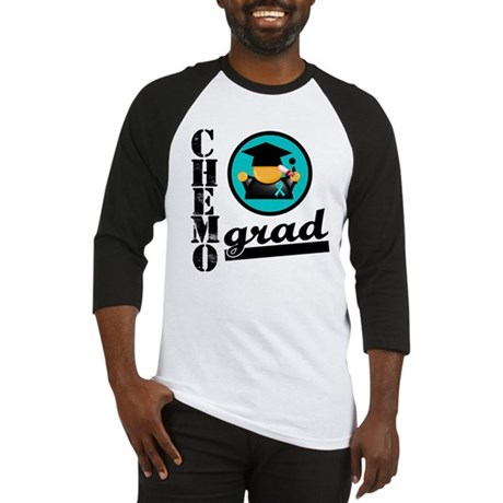 Chemo Grad Ovarian Cancer Baseball Jersey