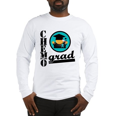 Chemo Grad Ovarian Cancer Long Sleeve T-Shirt