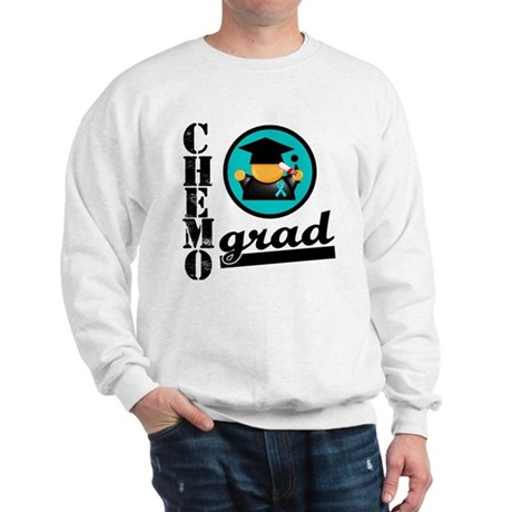 Chemo Grad Ovarian Cancer Sweatshirt