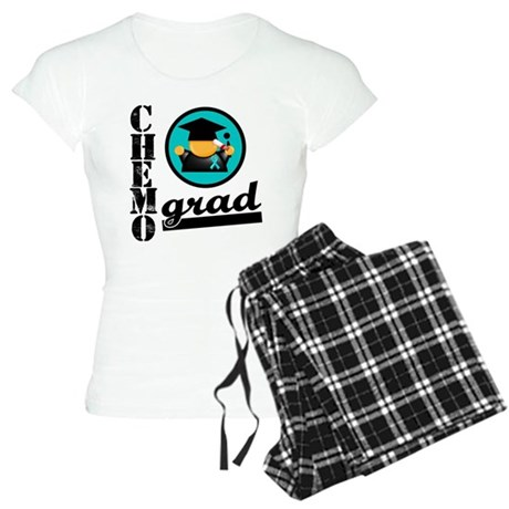 Chemo Grad Ovarian Cancer Women's Light Pajamas