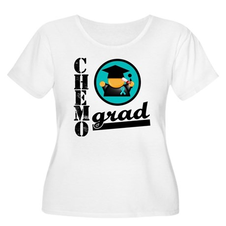 Chemo Grad Ovarian Cancer Women's Plus Size Scoop