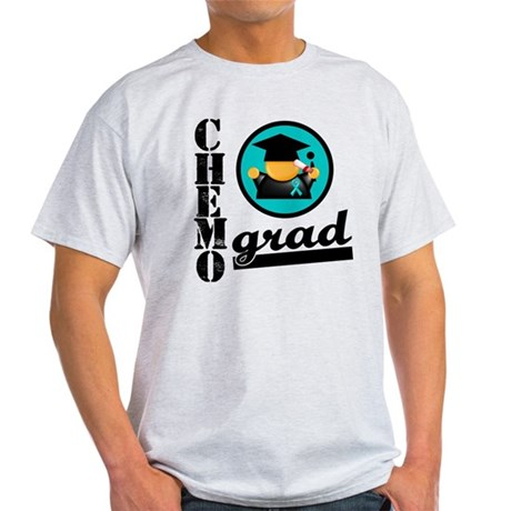 Chemo Grad Ovarian Cancer Light T-Shirt