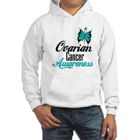 Ovarian Cancer Awareness Hooded Sweatshirt