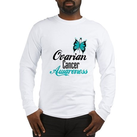Ovarian Cancer Awareness Long Sleeve T-Shirt