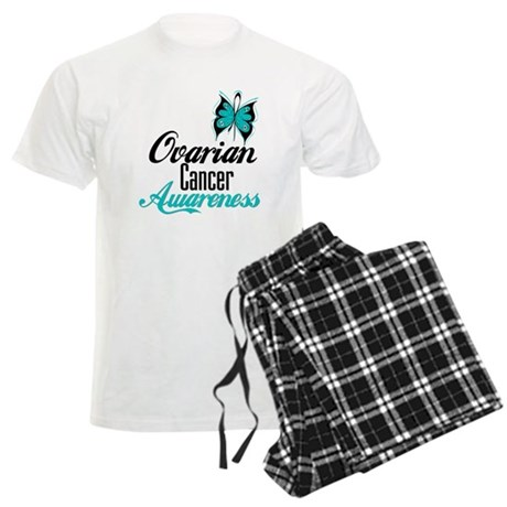 Ovarian Cancer Awareness Men's Light Pajamas