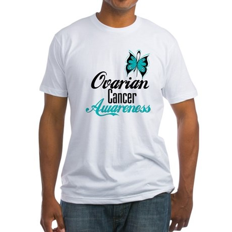 Ovarian Cancer Awareness Fitted T-Shirt