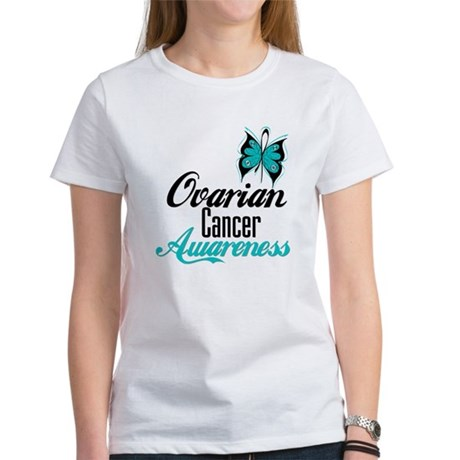 Ovarian Cancer Awareness Women's T-Shirt