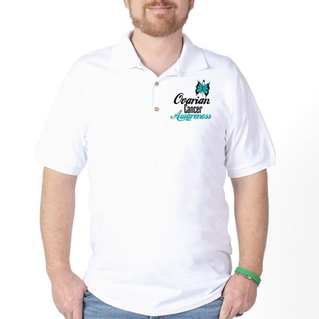 Ovarian Cancer Awareness Golf Shirt