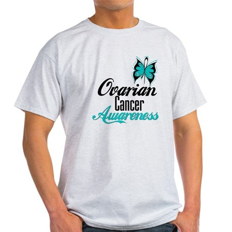 Ovarian Cancer Awareness Light T-Shirt