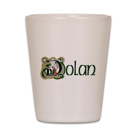 Dolan Celtic Dragon Shot Glass