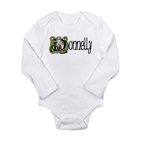 Donnelly Celtic Dragon Long Sleeve Infant Bodysuit
