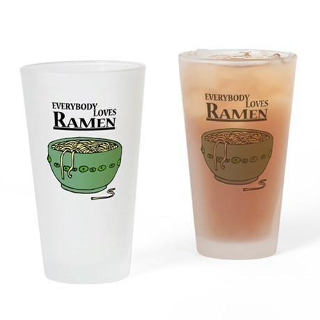 Everybody Loves Ramen (noodle Pint Glass